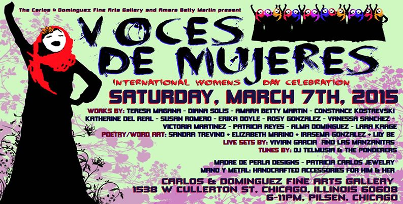 Voces Flyer