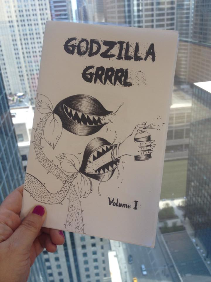 Godzilla Grrrl Zine - Naomi Martinez