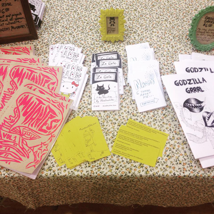 Chicago Zine Fest 2015 - Naomi Martinez
