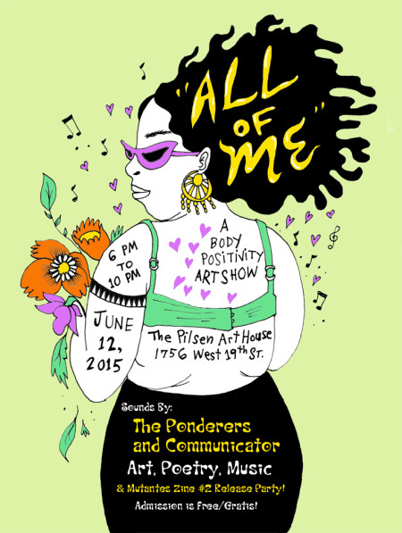 All of Me Art Show - Naomi Martinez