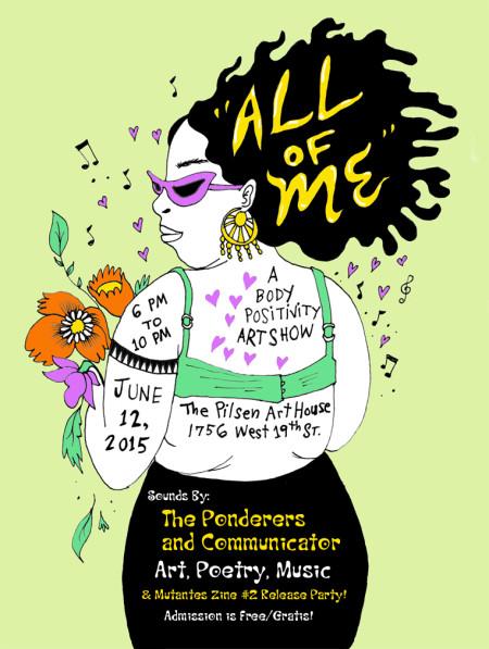 All of Me Art Show - Naomi Martinez