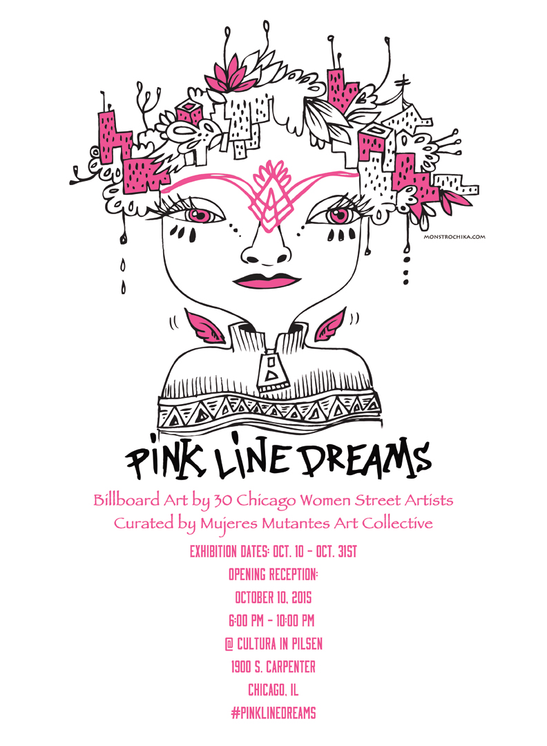 Pink Line Dreams - Naomi Martinez